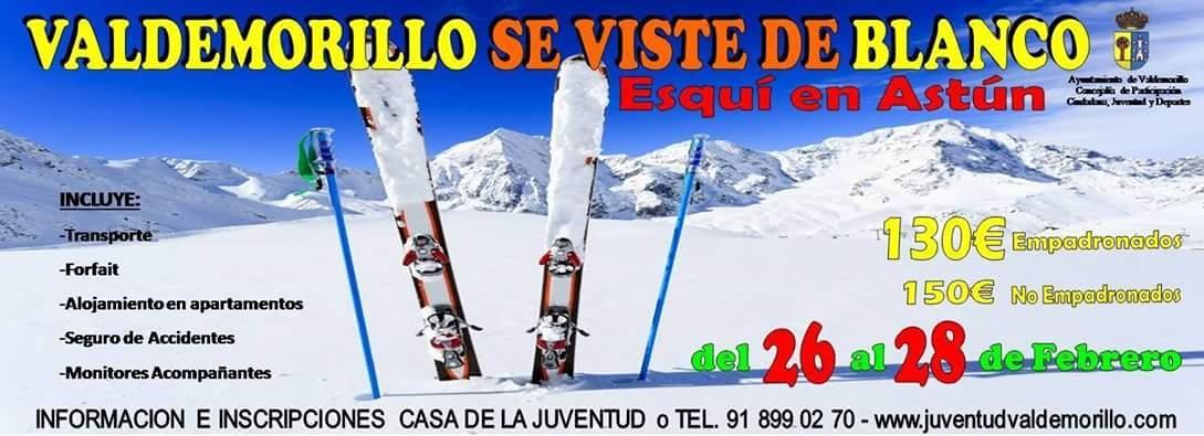 viaje organizado ski: