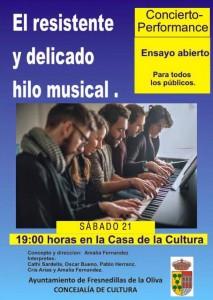 concierto casa cultura