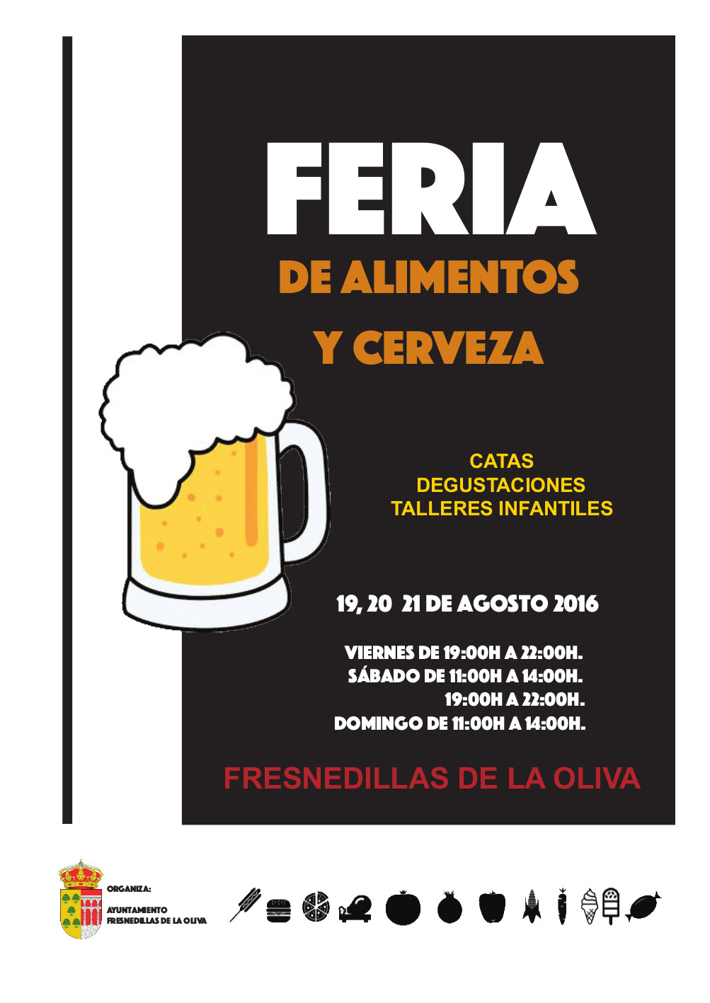 Feria de alimentos y cerveza
