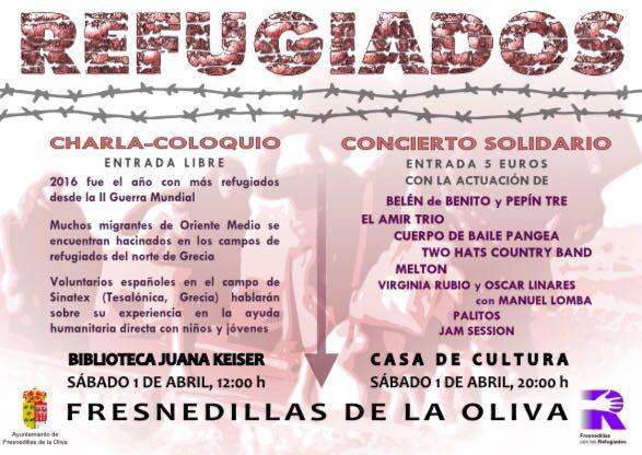 cartel jornada Refugiados